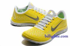 separation shoes 9ff3a 56895 Verkaufen billig Schuhe Herren Nike Free 3.0 V4 (Farbe Vamp-gelb,weiB