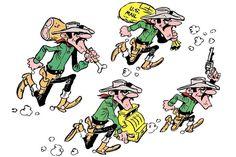 Les Dalton Dalton Lucky Luke, Bd Lucky Luke, Comic Art, Comic Books, Bilal, Ligne Claire, Morris, Painted Clothes, Looney Tunes
