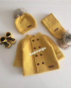 Baby Boy Knitting Patterns, Baby Sweater Patterns, Knit Baby Sweaters, Easy Knit Baby Blanket, Knitted Baby Blankets, Knit Baby Dress, Baby Cardigan, Kids Headbands, Baby Coat