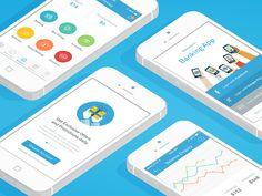 iOS Social Banking App