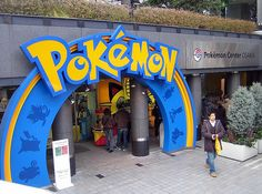 Osaka Pokemon Center, Japan - Well I definitely have to go here...