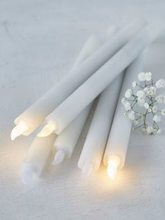 LED+Dinner+Candle+Set