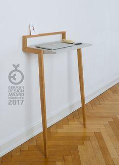 50 industrial floating desk Cool minimal desk option for a modern home office solution. Furniture Makeover, Wood Furniture, Furniture Design, Salon Furniture, Vintage Furniture, Bedroom Furniture, Furniture Ideas, Floating Desk, Furniture Inspiration