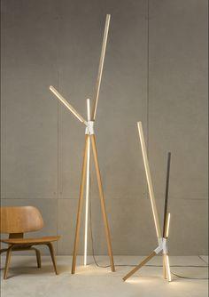 RUX / stickvulb, 2012 Lampes design
