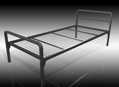 The Harrow bed base is made with a furniture grade steel tube perimeter frame with a fully welded steel mesh panel. This coupled with a matching headboard and footboard makes this model not only robust but stylish. The headboard and footboard lock into place and are bolted giving a light but strong construction. The bed is 370mm tall to the top of the mesh base. It is available in a black finish as shown or a silver. Total Weight Limit (Based on 2 People): 48 Stone / 305 kg.