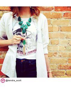 Rayne Necklace in Green - Kendra Scott Jewelry