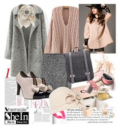 """""""Shein coat"""" by irinavsl ❤ liked on Polyvore featuring Suzanne Bettley and Sophie Darling"""