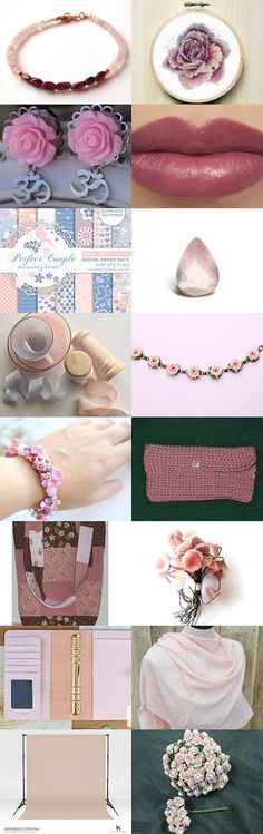 Rose Pink by Robert Whitworth on Etsy--Pinned+with+TreasuryPin.com