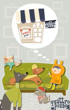 Noa e i suoi amici pelosi s'immaginano il fantastico negozio on_line di quattropiuno www.facebook.com/pages/quattropiunocom/1482801571999680?fref=ts