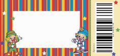 Help Festas e Personalizados: Kit Patati Patata Clown Crafts, Thankful Tree, Birthday Board, Clip Art, Frame, Lucca, Clowns, Invitation Birthday, Clown Cake