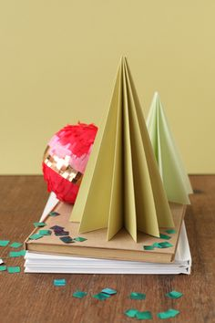 A Field Journal: Accordion Paper Trees for Julep