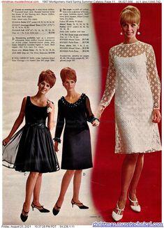 1960s Fashion Women, Retro Fashion, Womens Fashion, Montgomery Ward, Christmas Catalogs, Noodle, Pop Art, Spring Summer, Seasons