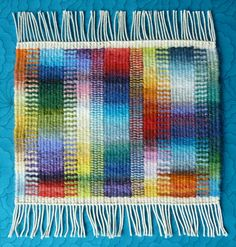 Helen Smith, work in the Weaving Tapestry on Little Looms online class with Rebecca Mezoff Weaving Textiles, Weaving Art, Weaving Patterns, Tapestry Weaving, Loom Weaving, Hand Weaving, Small Tapestry, Contemporary Tapestries, Fibre And Fabric