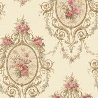 Neoclassic Cameo | Wallpaper Warehouse
