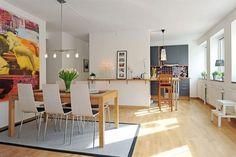 muebles: combinar madera de roble y blanco? | Decorar tu casa es facilisimo.com