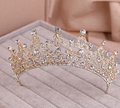 Cheap crystal bridal, Buy Quality crystal wedding directly from China accessories bridal Suppliers: Red/Clear Wedding Bridal Crystal Tiara Crowns Princess Queen Pageant Prom Rhinestone Veil Tiara Headband Wedding Hair Accessory Bridal Crown, Bridal Tiara, Wedding Hair Accessories, Wedding Jewelry, Crown Headband, Headband Hair, Royal Jewels, Tiaras And Crowns, Pageant Crowns