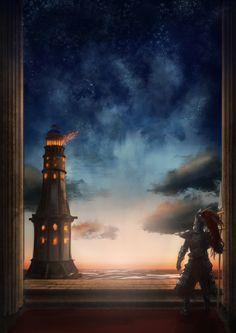 old dragonslayer and Heide s Tower of Flame by SerValt on DeviantArt Fantasy Dragon, Dragon Art, Soul Saga, Dark Souls 2, Dark Blood, Praise The Sun, Bloodborne, The Masterpiece, Fantasy Landscape