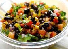 Bean Salad Recipe With Cilantro.Black Bean And Corn Salad Dinner At The Zoo. Mexican Three Bean Salad Recipe SimplyRecipes Com. Black Bean Salad Recipe SimplyRecipes Com. Great Salad Recipes, Salad Recipes For Parties, Healthy Salad Recipes, Healthy Food, Fancy Salads, Summer Salads, Black Bean Salad Recipe, Cilantro Recipes, Mexican Food Recipes
