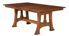Cambridge Trestle Dining Table  http://www.amishfurniturefactory.com/amish-cambridge-trestle-dining-table.html