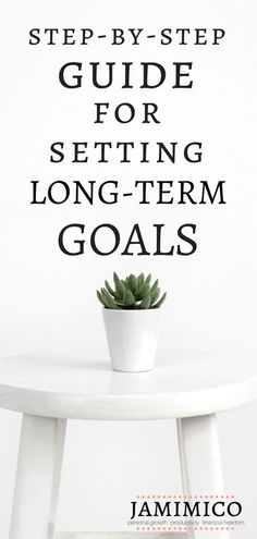 Step-by-Step Guide for Setting Long-Term Goals setting goals long-term goals goal setting dream big 10 year goals 5 year goals big goals personal growth personal development self improvement Saved by: Erin Dickson Gravity Life Coaching Achieving Goals, Achieve Your Goals, Reaching Goals, Career Goals, Life Goals, Relationship Goals, Career Advice, Career Change, Financial Goals