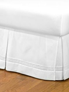 Smoothweave Tailored 18 Inch Queen Bed Skirt In Ivory Wish List Pinterest Free Shipping And Ships