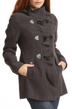 Toggle Button Bow Coat