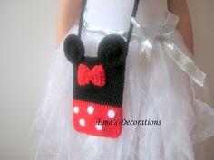 Minnie Mouse crochet bag