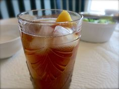 Summer Peach Iced Tea