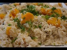Jamaican Pumpkin Rice recipe - How to cook great food scotch bonnet coconut thyme - YouTube