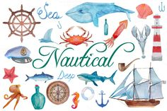 Nautical pack - Illustrations - 1