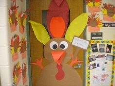 Classroom Door Decorations For Fall fall classroom door ideas | november & thanksgiving bulletin board