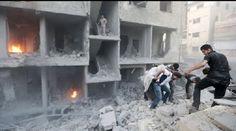 Bombardeo de régimen sirio en kínder deja 6 niños muertos
