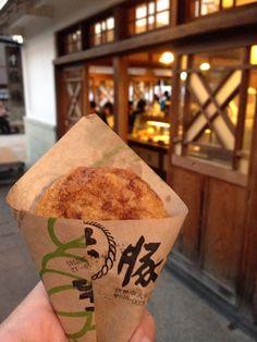 豚捨 おかげ横丁店 場所: 伊勢市, 三重県
