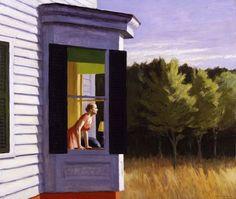 Hopper - Matin au cap Cod, 1950