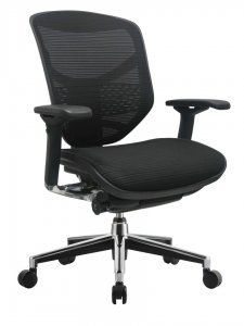 Eurotech Concept 2.0 Mesh Chair SKU: Concept 2.0 Years of experience in the office furniture industry taught us how to build commercial quality office seating, but out meticulous research in the human form and how it reacts to repetitive work-related movements gives u the edge in developing chairs that meet the real needs of people, promoting productivity, comfort, good health and safety. Seating that excides the needs of the new millennium. Availability: 1 Available Color(s) Pricing…