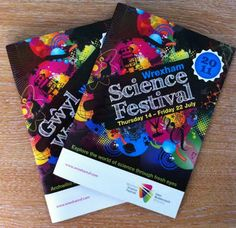 Mako Creative Sharkbites: Wrexham Science Festival brochure