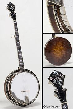 Stelling Virginian 5-String Banjo This is one of the banjo's I own. I love playing this one on stage