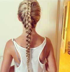 Invisible French Braid