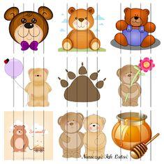 Nauczyć Ich Latać: Dzień Pluszowego Misia - materiały do pobrania Teddy Bear Day, Llama Arts, Crafts For Kids, Arts And Crafts, Montessori, Kindergarten, Education, School, Early Education