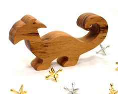Wooden Dragon Toy