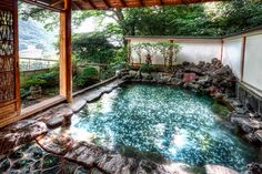 """Beautiful Japanese View from the beautiful japanese spa """"ONSEN"""". #japan #spa #japanese_spa"""