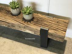 Tv meubel biels industrieel -oud hout- Boomstamwinkel