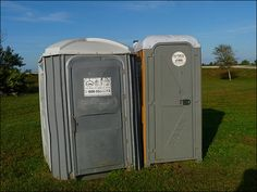 Porta Potty peeper sentenced to 3 years in prison Police arrested Chrisco in 2011 after a woman at a yoga festival in Boulder noticed something moving in the tank of the portable toilet, then saw a feces-stained man emerge and run away. Police say he also was suspected of hiding in other bathrooms around Boulder to watch women use the toilet.