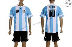 Argentine Maillot Messi 10 Domicile 2012-2013 FT8165