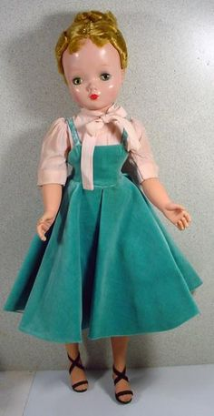 Madame Alexander Cissy Doll in Jumper and Blouse, 1950's