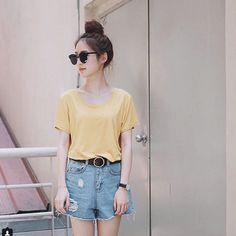 Mặc đẹp như hot girl số 1 Thái Lan Pimtha