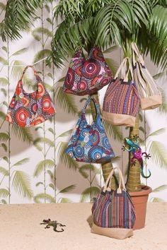 Els complements més funcionals de la llar s'han convertit en peces d'allò més divertides. Summer 2014, Spring Summer, Straw Bag