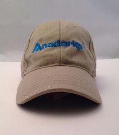10ab3b5711946 ANADARKO PETROLEUM Corp APC Oil Gas Field Tan Embroidered US Coast Guard  Cap Hat  ATRHeadwear  BaseballCap