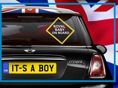 Royal baby is a boy! #royalbaby #boy #mini #minicooper