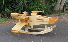 Rocking Ride-in Spaceship by StevesWoodenToys on DeviantArt. X-wing fighter with R2-D2!!!!!